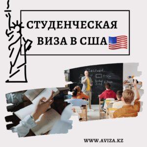 студенческая виза в США